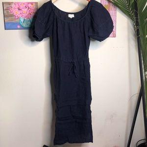 Velvet by Graham & Spencer Mid Navy Dress | XS